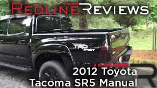 Download 2012 Toyota Tacoma SR5 Manual Walkaround, Exhaust, Review, and Test Drive Video