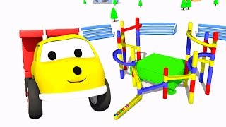 Download Playing with marbles : learn colors with Ethan the Dump Truck 🚛 Educational cartoons for kids 🚛 Video