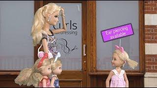 Download Barbie - Chelsea Gets Her Ears Pierced | Ep.131 Video