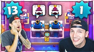 Download LEVEL 1 + LEVEL 13 TRYING 2v2! Clash Royale Video