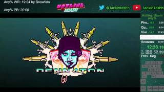 Download Hotline Miami any% Speedrun in 19:49 Video