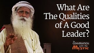 Download What Are The Qualities of A Good Leader? - Vinita Bali with Sadhguru Video
