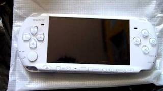 Download Unboxing / Deballage Sony PSP 3000 Pearl White [480p] Video