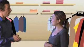 Download Conversation Tips: Shopping for Clothes Video