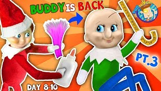 Download BALDI Elf on the Shelf gets New HAIRDO! Days 8, 9 & 10 (FUNnel Fam Christmas Vision) Video