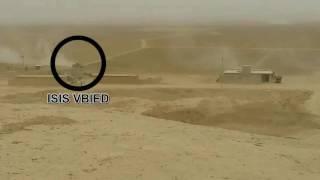 Download Isis car'bomb -تصدي الجيش والحشد مفخخة قادمة من داعش Video