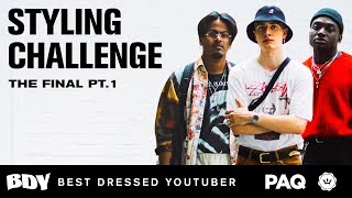 Download Sangiev, Magnus & Rickey Thompson Compete in a MAD Styling Challenge | Best Dressed Youtuber 2018 Video