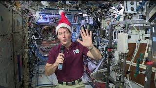 Download (French) Thomas Pesquet's space Christmas message Video