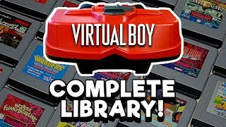 Download COMPLETE Virtual Boy Library! Every game released in the US! | Nintendrew Video