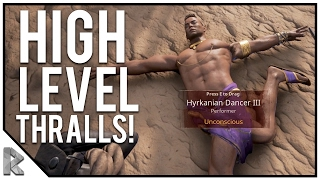 Download Capturing High Level Thralls & NEW Base Location! - Conan Exiles Gameplay #19 Video