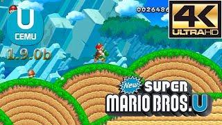 Download Cemu 1.9.0b (Wii U Emulator) - New Super Mario Bros. U [4K / 60 FPS] Video