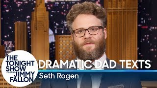 Download Seth Rogen Reads Dramatic Dad Texts Video