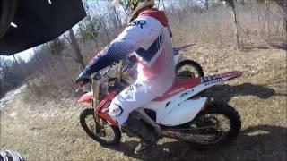 Download 2013 Honda crf450 Wheelies!!! Video