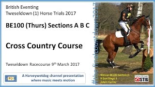Download Tweseldown BE100 (Thursday) Cross Country Course Video