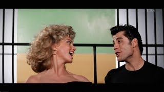 Download Olivia Newton John. John Travolta - GREASE / グリース 1978 Video