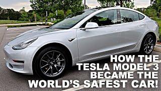 Download How the Tesla Model 3 became the World's Safest Car! Video