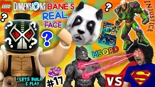 Download BANE'S REAL FACE? Batman vs. Superman vs. Lex Luthor FIGHT! Lets Build & Play LEGO Dimensions #17 Video