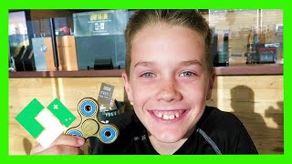 Download HIS FIRST FIDGET SPINNER! (Day 1851) Video
