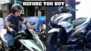 Download YAMAHA AEROX S 2018: A Quick Test Drive│New features│ABS + Smart Key + Start and Stop System Video