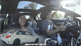 Download Mercedes-AMG C63S 2018 - Rider Reactions Video