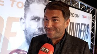 Download 'F****** HUGE!' - EDDIE HEARN REACTS TO SIGNING BILLY JOE SAUNDERS & 'CONGRATULATES' FURY ON WALLIN Video