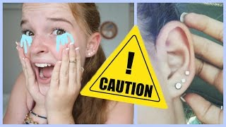 Download MY SCARY EAR PIERCING EXPERIENCES! Video