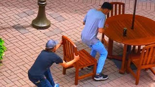 Download Ultimate ″Chair Pulling″ Pranks Compilation - Funniest Public Pranks 2017 Video
