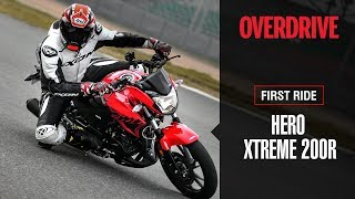 Download Hero Xtreme 200R First ride review | OVERDRIVE Video