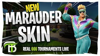 Download NEW FORTNITE MULLET MAURADER SKIN | REAL $$$ TOURNAMENTS LIVE Video