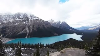Download Driving Canada's Icefields Parkway in 360° - Lonely Planet Video