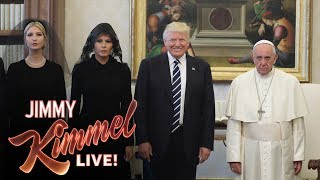 Download Jimmy Kimmel on Trump's Visit with the Pope Video