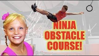 Download NInja Vs NInja Obstacle Course!! Ninja Kidz TV! Video