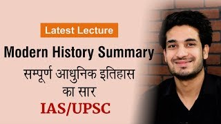 Download Complete Summary of Modern Indian History by Anuj Garg Video