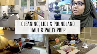Download VLOG - SPEED CLEANING, LIDL & POUNDLAND HAUL, PREPPING FOR PARTY Video
