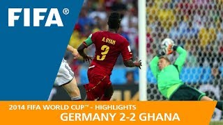 Download GERMANY v GHANA (2:2) - 2014 FIFA World Cup™ Video