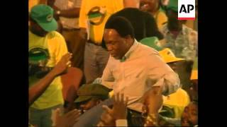 Download SOUTH AFRICA: ANC CONGRESS CHOSE MBEKI AS DEPUTY PRESIDENT Video