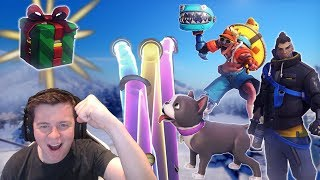 Download Unboxing 101 Winter Wonderland Lootboxes! + Giveaway [Overwatch] Video