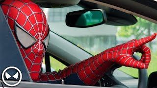 Download SPIDER-MAN Attacks Opel Dealer! - Cars are for Humans Video