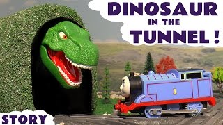 Download Thomas and Friends Toy Trains Dinosaur Prank with Spiderman - Train Toys for kids and children TT4U Video