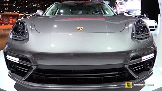 Download 2017 Porsche Panamera Turbo Executive - Exterior and Interior Walkaround - 2017 Chicago Auto Show Video