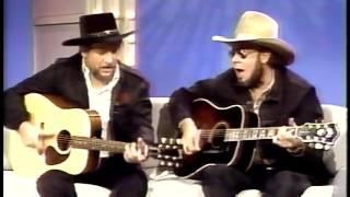 Download Nashville Now /w Waylon Jennings & Hank Jr. singing Mind Your Own Business & The Conversation Video