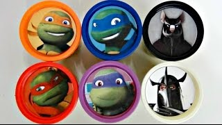 Download Teenage Mutant Ninja Turtles TMNT Playdoh Surprise with Toy Sets, Leo, Mikey / TUYC Video