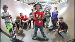 Download FATHER SON SKATEBOARD CAMP! Video