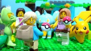 Download 【LEGO遊び】さぁ、ポケモン捕まえに行くぞ!そしてバトルしようぜ!レゴとモンコレで遊ぶぞ!【アナケナ&カルちゃん】 Video