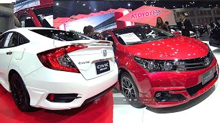 Download All new 2016, 2017 Honda Civic VS 2016, 2017 Toyota Corolla Altis Facelift Video