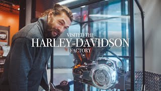 Download I visited the Harley-Davidson factory last week! Video