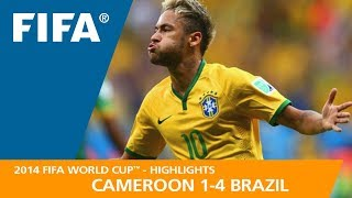 Download CAMEROON v BRAZIL (1:4) - 2014 FIFA World Cup™ Video