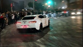 Download DRIFTING CAMARO LOSES CONTROL INTO HUGE CROWD! Video