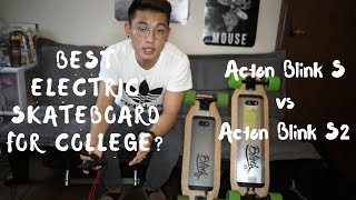 Download BEST Electric Skateboard For College?? Acton Blink S vs S2 Review Video