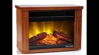 Download Heat Surge Mini Glo LED Fireplace Video